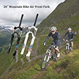 Lixada Ultra-light 26'' Mountain Bike Oil/Spring Front Fork Bicycle Accessories Parts Cycling Bike Fork