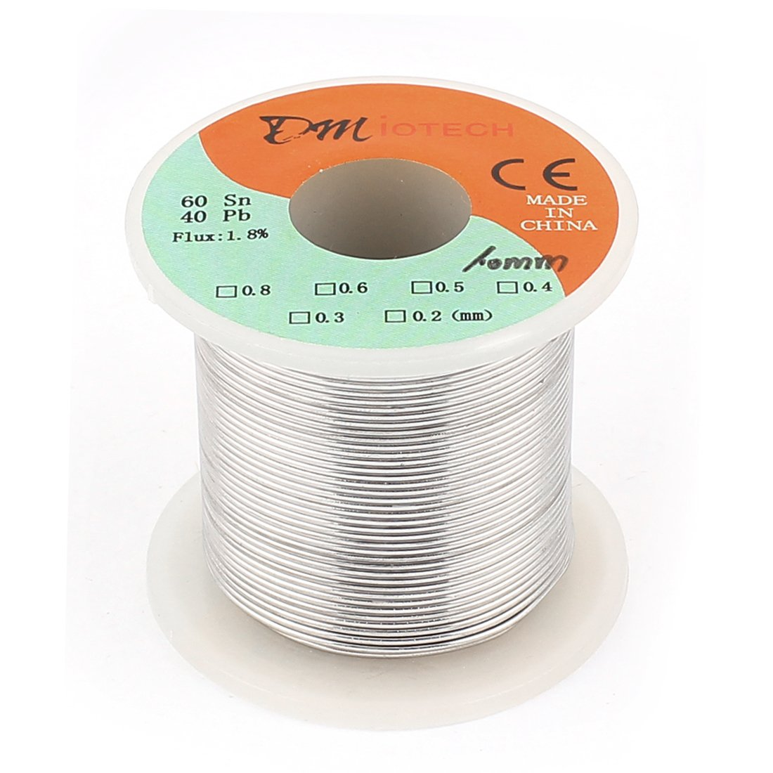 DMiotech 1mm 200G 60/40 Rosin Core Tin Lead Roll Soldering Solder Wire