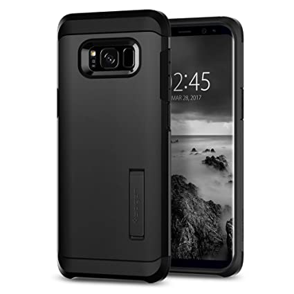 Spigen Tough Armor Designed for Galaxy S8 Plus Case (2017) - Black