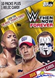 2016 Topps WWE Wrestling Then, Now, Forever EXCLUSIVE Factory Sealed Retail Box with 10 Packs & RELIC Card!  Look for Cards, Autographs & Relics of The Rock, Jon Cena, Sting,Triple H Ric Flair & More!