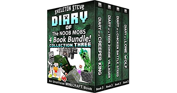 Amazon.com: Diary Book Minecraft Series - Skeleton Steve ...
