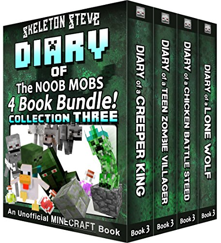 [D0wnl0ad] Diary Book Minecraft Series - Skeleton Steve & the Noob Mobs Collection 3 : Unofficial Minecraft Boo P.D.F