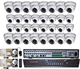 Evertech-32-Channel-Full-D1-DVR-Security-Surveillance-System-High-Resolution-Dome-Camera-Two-2TB-HDD