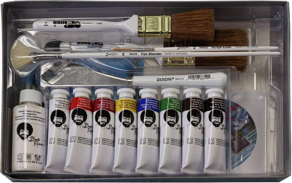 Bob Ross 16 Piece Master Paint Set by Bob Ross
