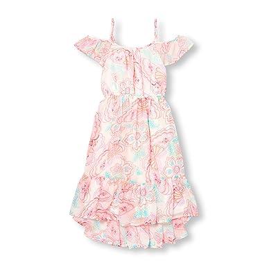 094e9f7ebb Amazon.com  The Children s Place Girls  Cold Shoulder Casual Dresses ...