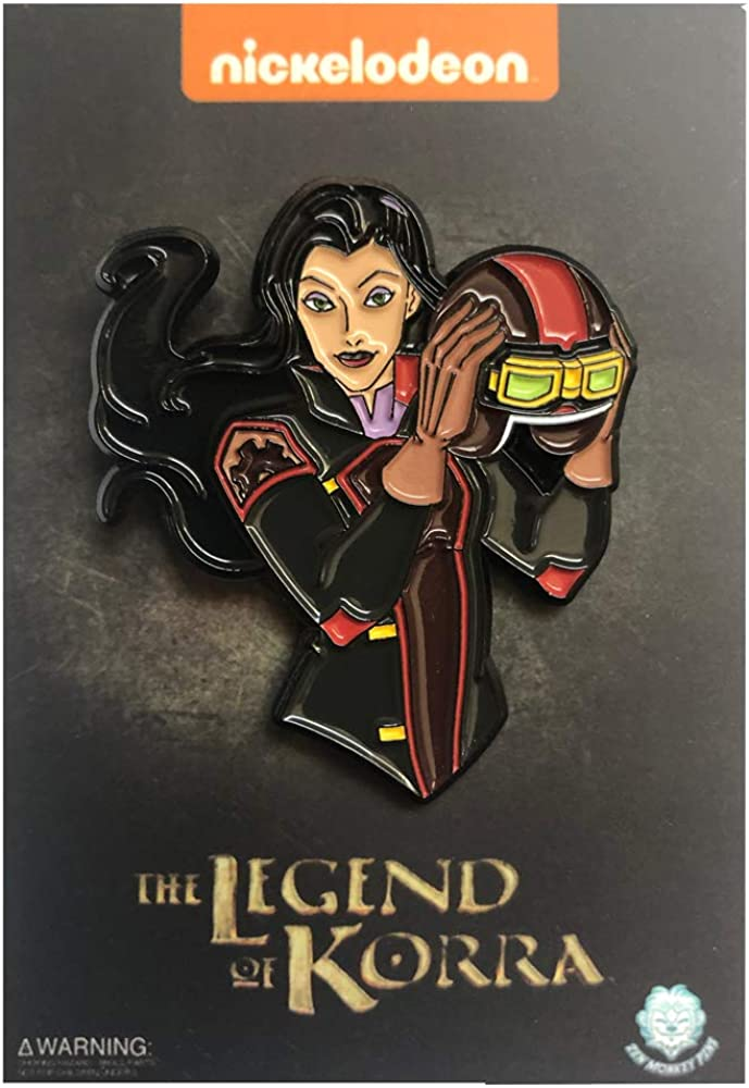 The Legend of Korra Asami with Helmet Collectible Pin
