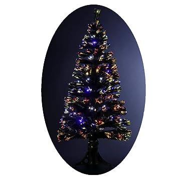 465ffa60e56c8 FEERIC LIGHTS   CHRISTMAS Sapin de Noël Artificiel Lumineux avec Fibre  Optique + 170 Lampes LED ...