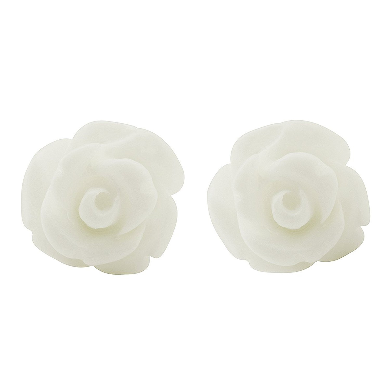 big earrings with cremation ash flower by stud pieces elena products spirit
