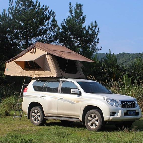 JohnnyLuLu Tienda de Techo para Autos Que acampa al Aire Libre, 2-3 Personas Tienda de campaña portátil Toldos Laterales Toldos Traseros para autocaravanas de autocaravanas Caminando en la Playa: Amazon.es: Hogar
