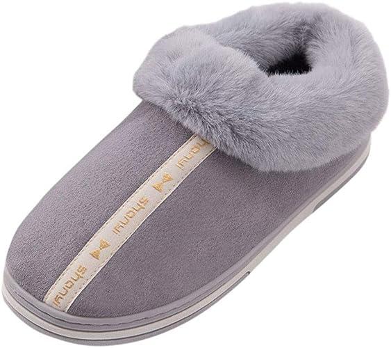Day8 Pantofole Uomo Invernali Chiuse Simpatiche Ciabatte Casa Uomo Calde Scarpe Cotone Uomo Pantofole Peluche Uomo Inverno Pelose Antiscivolo Casual Economiche Amazon It Scarpe E Borse