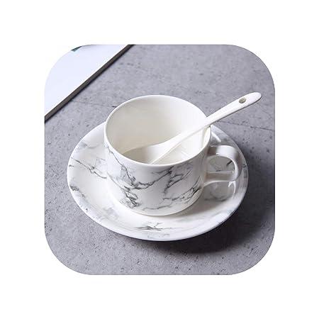 Vajilla de porcelana china con diseño de mármol, apta para ...