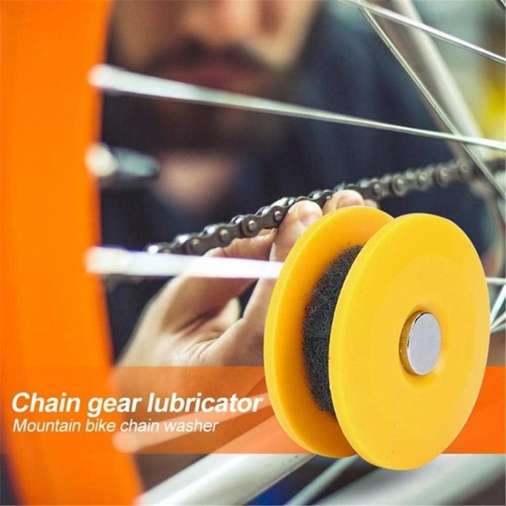 Rodillo de bicicleta Engrasador de cadena Lubricador de engrase ...