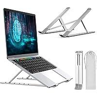 MTQ Soporte para Laptop, Soporte Portátil, Aluminio Enfriador para MacBook, iPad, Pro, Laptop Stand con Ventilación…