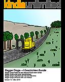 Draga 4 Geschichten Bundle (Maulwurf, Wassergraben, Ente Anna, Notarzt) - Bilderbuch Gutenachtgeschichte (Bagger Draga 4er Bundle 3)
