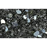 """Fire Glass for Fire Pits Grey 1/4"""" for Reflective Glass Pellets (10Lbs)"""