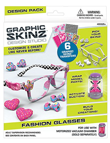 Graphic Fashion Glasses Transfers 45908AA304 6