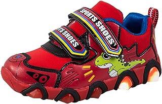 KUKICAT Baskets Enfant Pattes de Dinosaure Dessin Animé, Unisexe La Mode Sport Soldes Confortable Sneakers Running Shoes Baskets-10