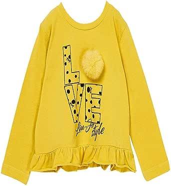 LIUJO Honey Baby Camiseta de Punto de algodón, 2, Amarilla: Amazon ...