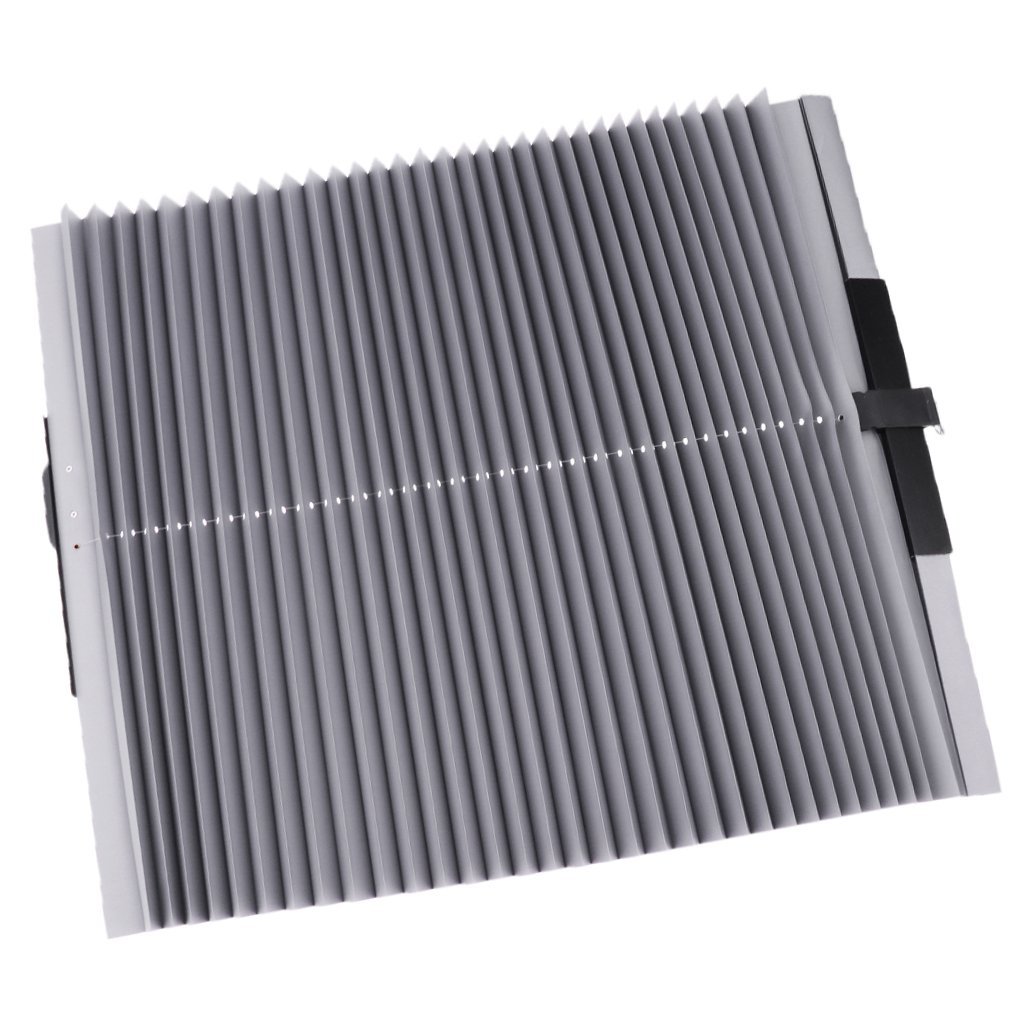 Homyl Lengthening Car Sun Shade Curtain Anti UV Retractable Shield Cover