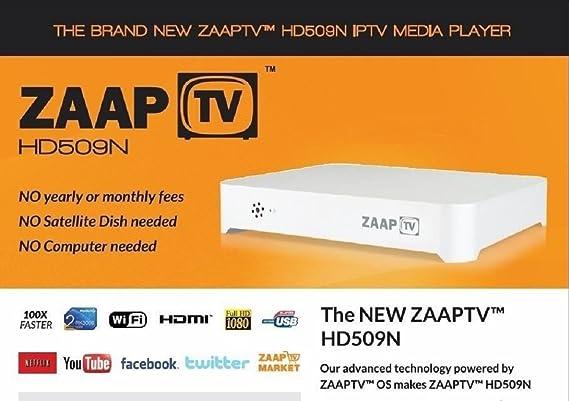 Zaap TV hd509 N de IPTV Streaming Client: Amazon.es: Electrónica