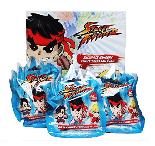 CAPCOM STREET FIGHTER 3 BACKPACK HANGER BLIND BAGS