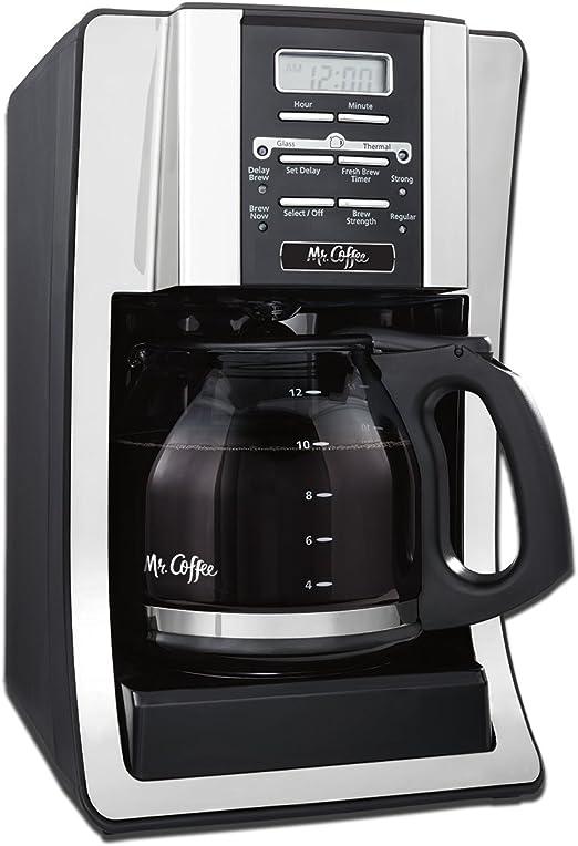 Amazon.com: Cafetera programable de 12 tazas, paquete con ...