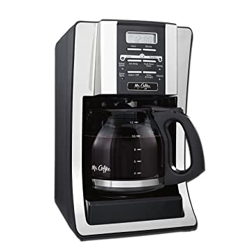 Review Mr. Coffee 12-Cup Programmable Coffee Maker, Bundle with 1 Month Water Filtration