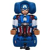 KidsEmbrace 2-in-1 Harness Booster Car Seat, Marvel Avengers Captain America