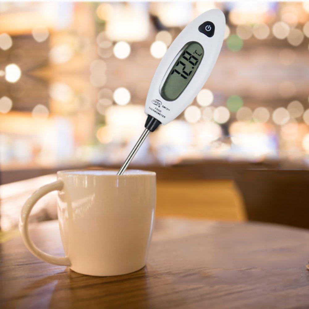 ZCH Fleisch-Thermometer 5S Instant Lesen Lebensmittel-Sonde, Große ...