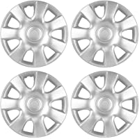 OxGord Hubcaps 15 inch Wheel Covers - (Set of 4) Hub Caps for 15in Wheels Rim Cover… photo