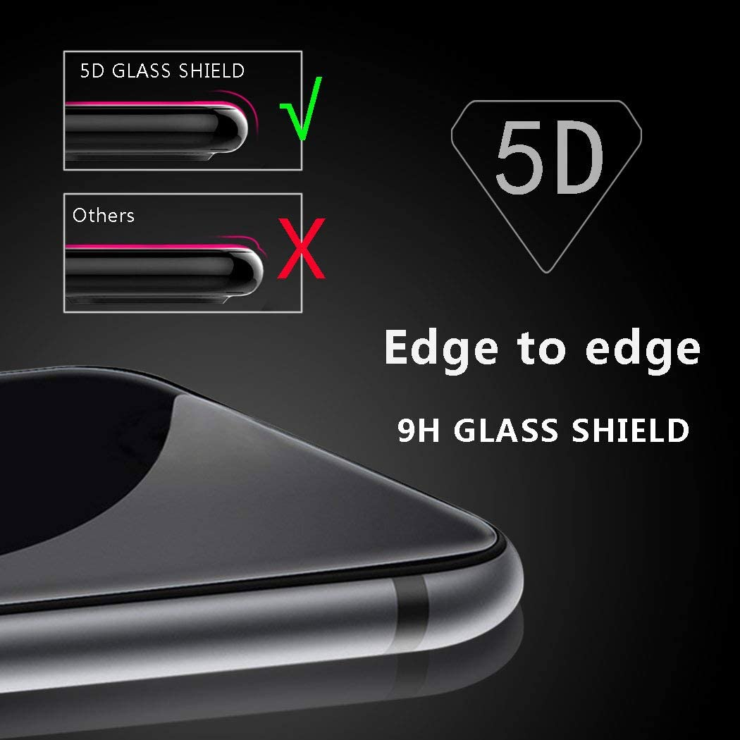 Einfache Installation 1 St/ück Huawei P20 Pro Panzerglas Schutzfolie 3D Touch HD-Klar Geh/ärtetes Glas Displayschutzfolie f/ür Huawei P20 Pro ZHXMALL Bubble-frei 5D Runde Kante 9H H/ärte