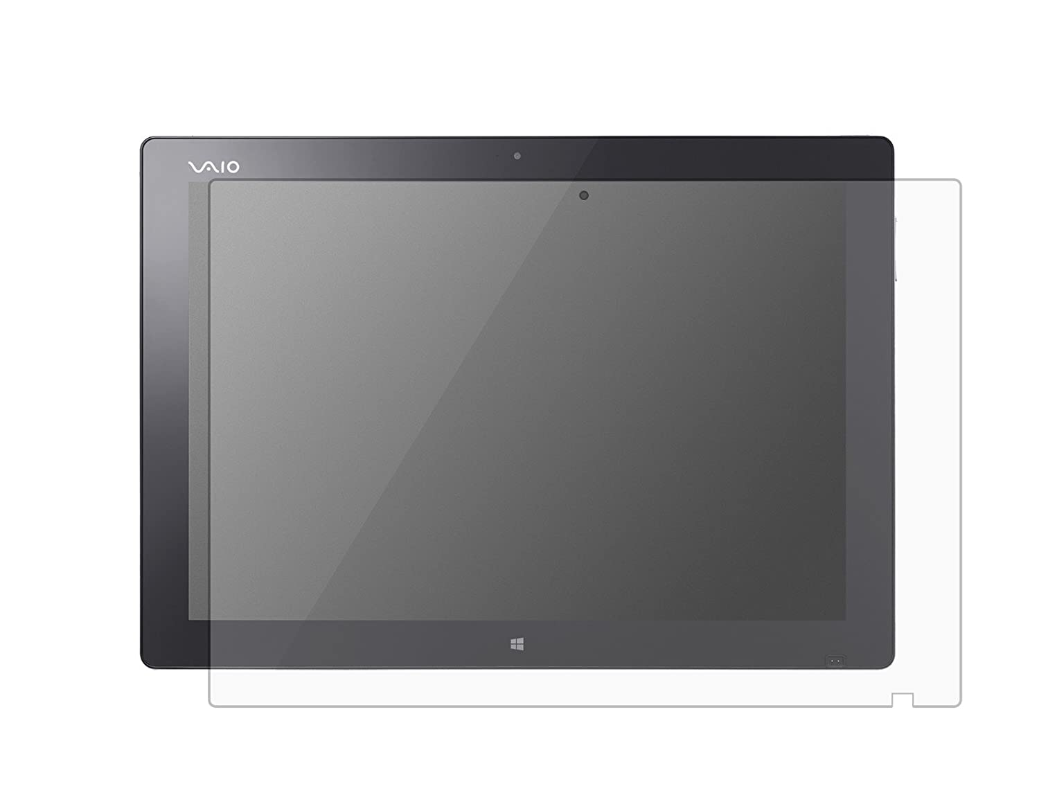 for Sony Vaio Canvas 12.3 Touch Screen Laptop High Clarity Anti Scratch Filter Radiation PcProfessional Screen Protector Set of 2