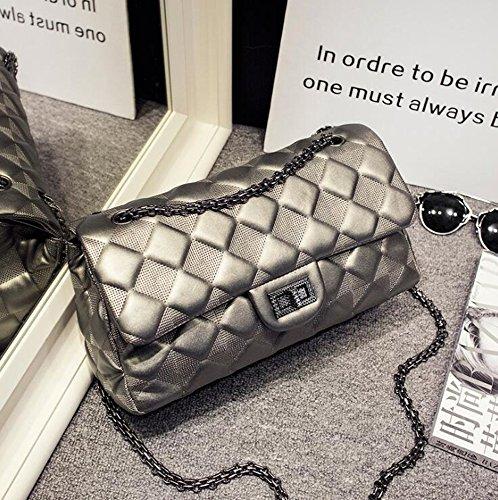 Aoligei Chaîne de Ling GE marée de mode sac oblique épaule Baotan cross Pack Lady Bag D