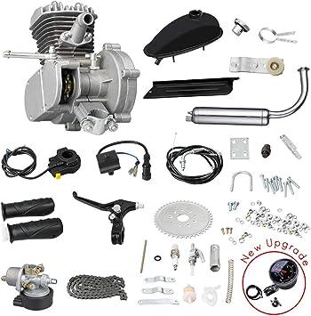 Amazon.com: Kunray Kit de motor de motocicleta de 80 cc ...