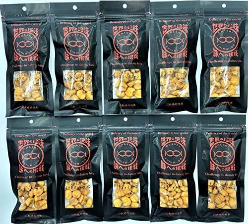 大橋珍味堂 世界の珍味シリーズ ピリ辛ジャイコーン10袋(35g×10袋)セット/常備 お菓子 おやつ おつまみ まとめ買い ギフト