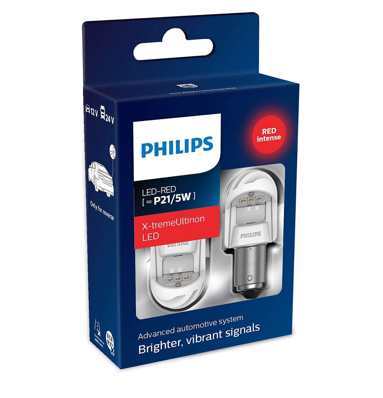 1 Pezzo 6000 Kelvin Philips automotive lighting 128596000KX1 X-tremeUltinon LED Luce per abitacolo C5W 38mm Festoon 6000K 12V