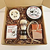 Bay Rum Soap, Mens Shaving Soap Gift Box, Gifts For Men, Soap On A Rope, Fathers Day Gifts, Gifts For Dad, Manly Soap Gift Box, Gift Basket