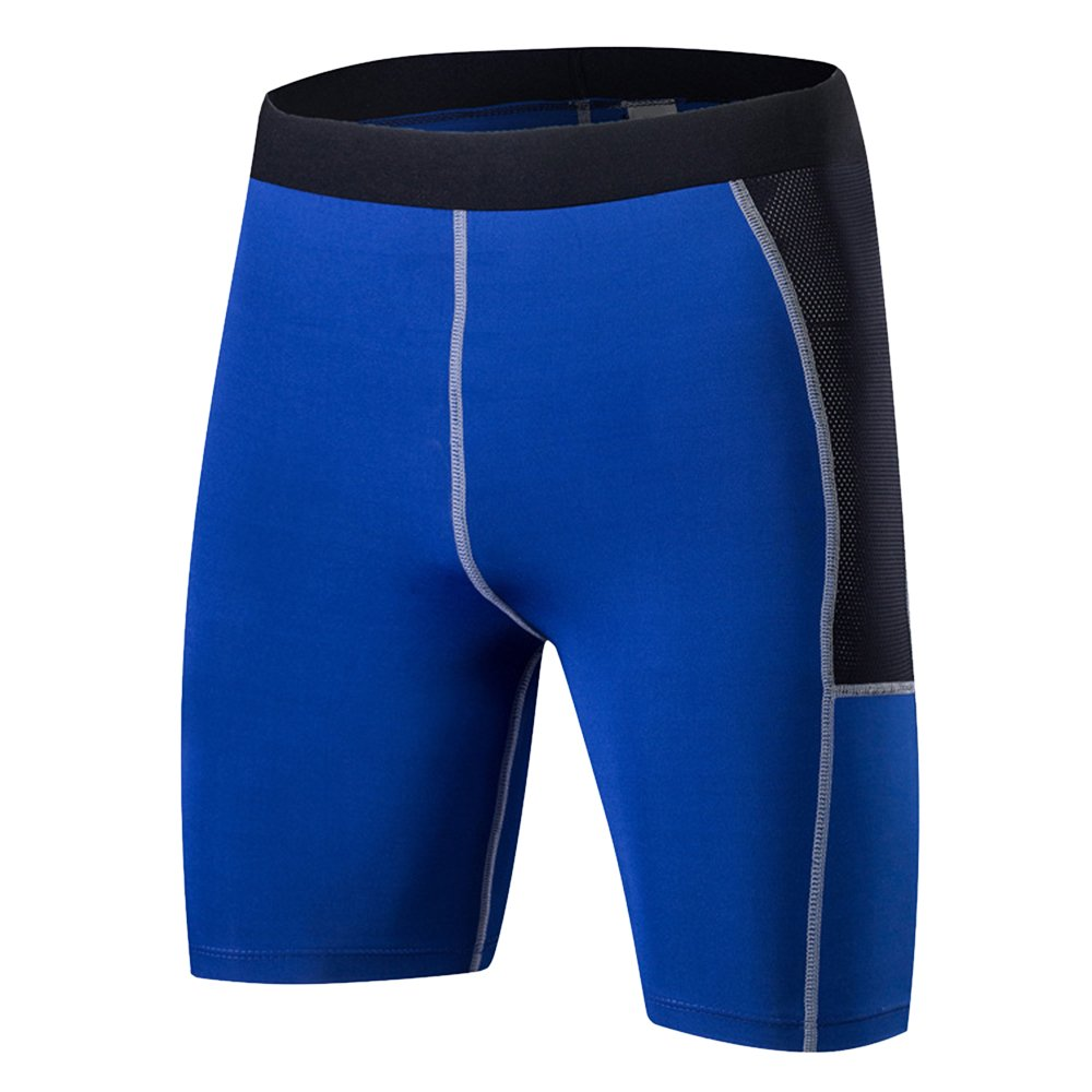 Bliefescher Laufhose Herren Sport Kurz Leggings Schnell Trocken Yoga Workout Laufen Fußball Fitness Strumpfhose JIA41O9158