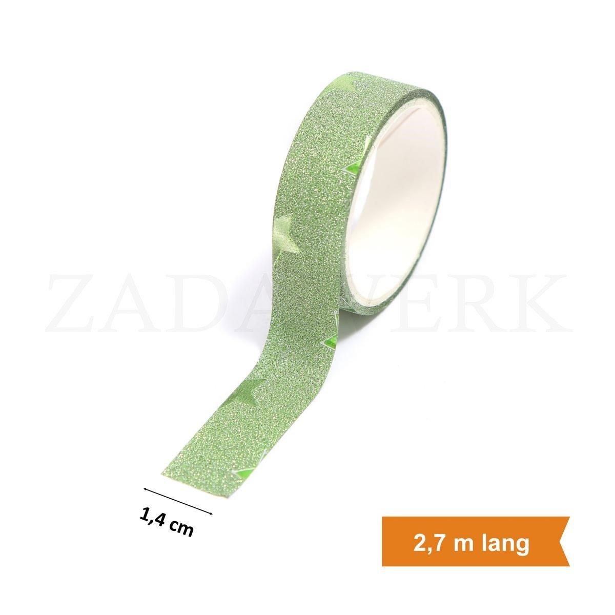 ZADAWERK/® Klettverschluss Schwarz 25 mm x 100 cm Klettband selbstklebend