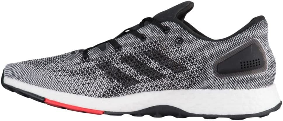 adidas Originals Men's Pureboost DPR Running Shoe Core Black/White