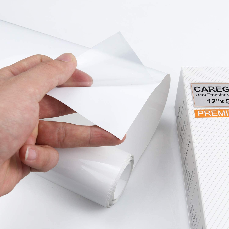 Rollo de vinilo para transferencia de calor con plancha de 12 pulgadas x 5 pulgadas de Carey: Amazon.es: Juguetes y juegos