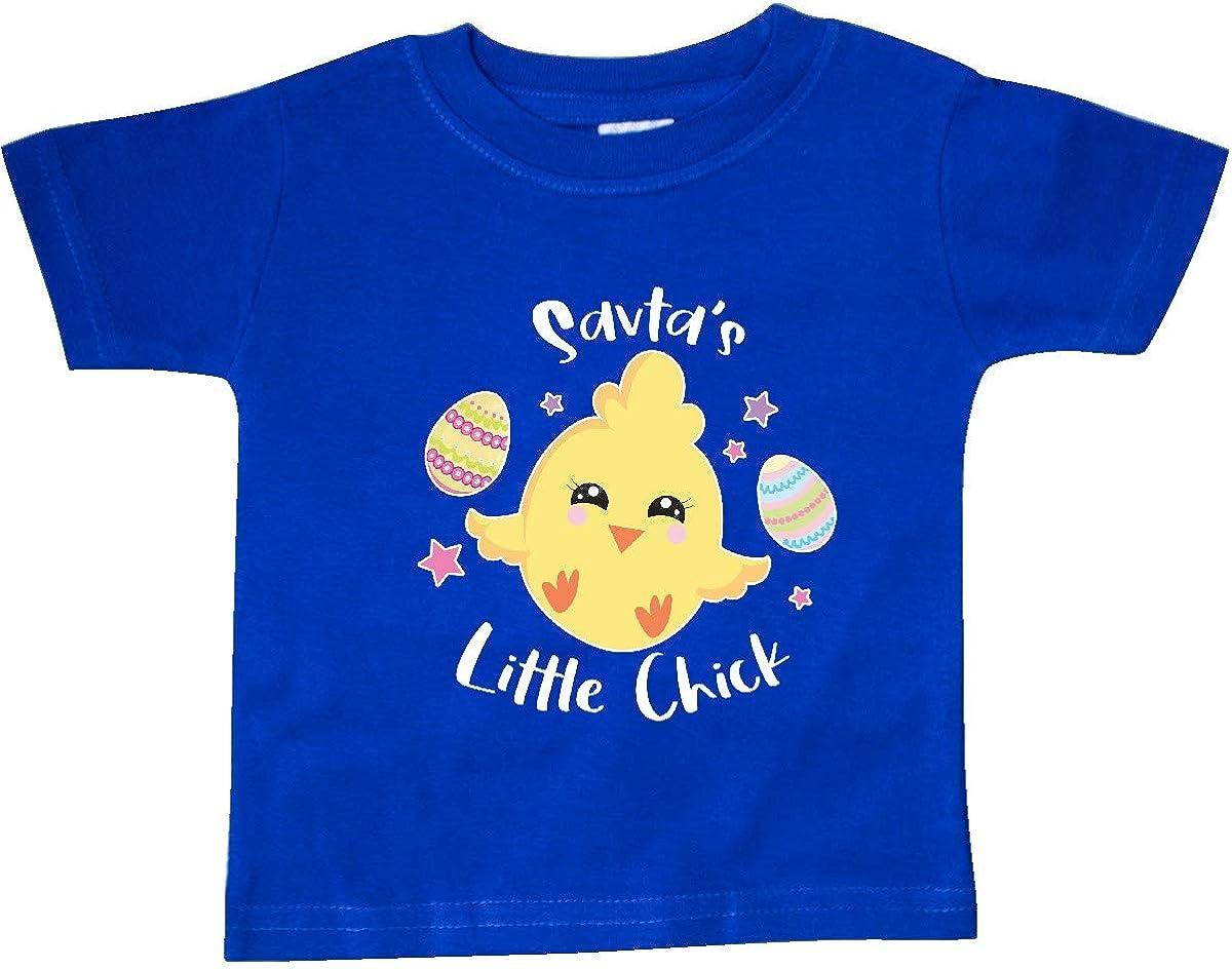 inktastic Happy Easter Savtas Little Chick Baby T-Shirt