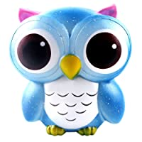 Magiyard Owl Cream Scented Squishy Slow Rising Squeeze Toys Collection