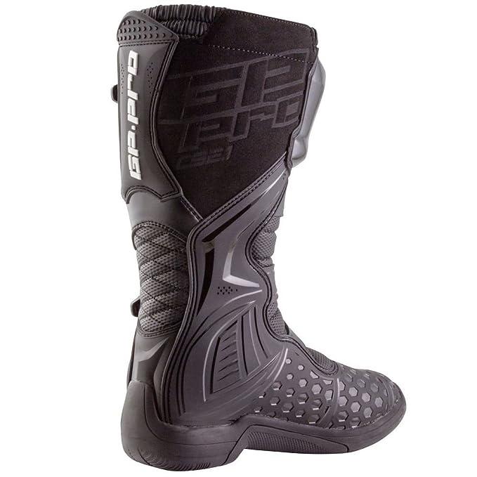 GP-Pro Comp serie 2.1 botas de Motocross Negro (moldeada único) MX Off Road  para nuevo  Amazon.es  Coche y moto cfd5c5b2b78b6