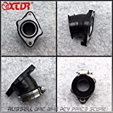 Accessories & Parts Pz30 34Mm Carb Carbretor Rubber Adapter Inlet Intake Manifold Pipe for Oko Keihin Mikuni Carb 150~300 Bike Dirt Motorcycle Quad