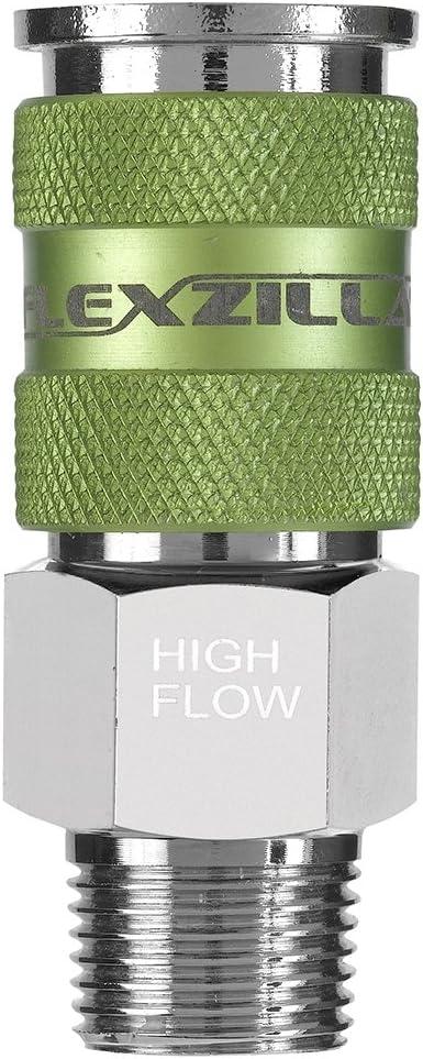 A53626FZ Flexzilla High Flow Coupler 3//8 MNPT 1//4 Body