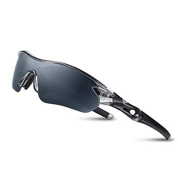 Bea CooL Gafas De Sol Polarizadas UV400, Gafas para MTB Bicicleta Montaña 100% De Protección UV