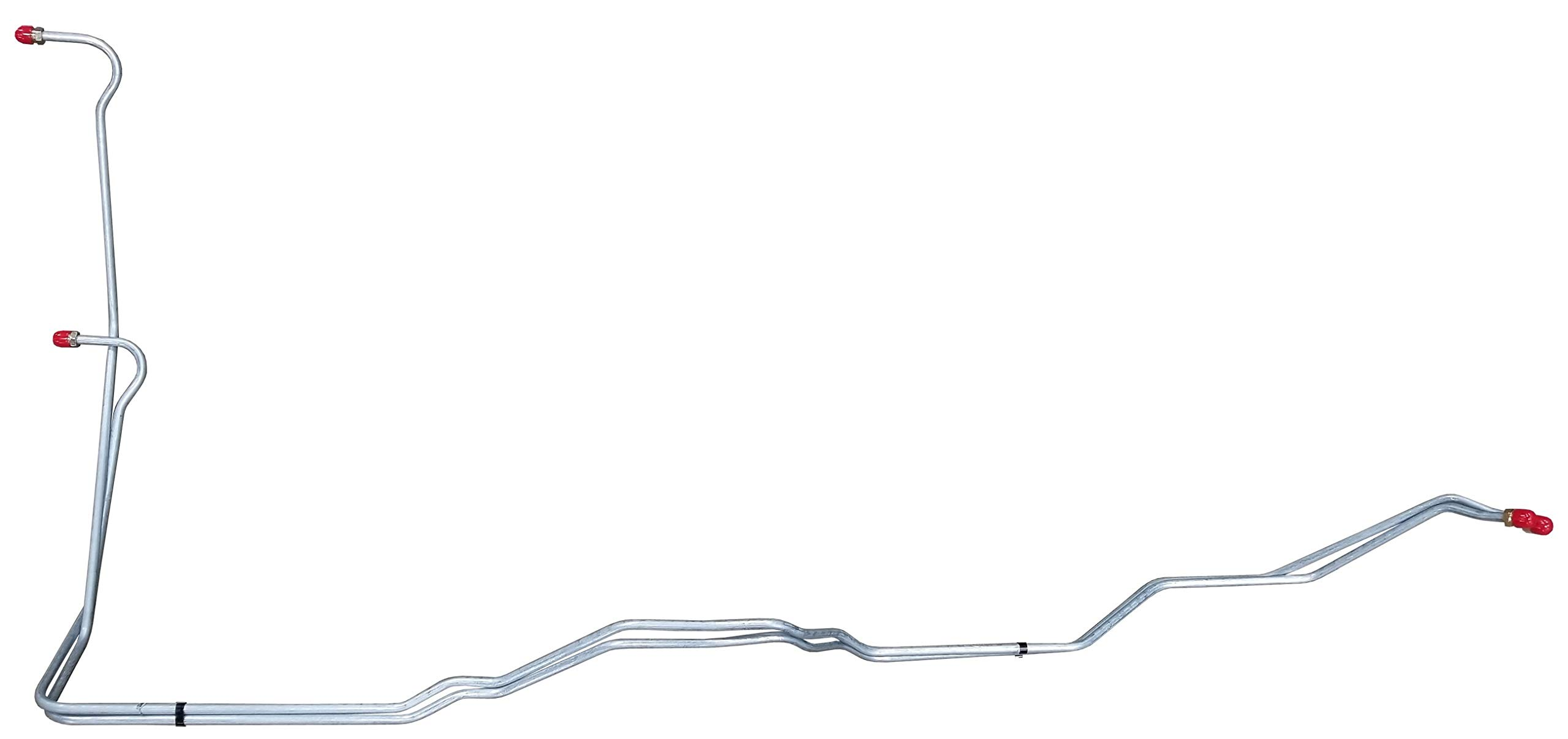 Inline Tube CTT8804 Compatible With 1988-1994 CHEVY GMC K1500-K2500 2wd 4X4 700R4 4L60 TRANS COOLER LINES. STEEL (W 3 8)