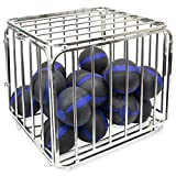 Heavy Duty Large Portable Ball Cage - 36'' x 32'' x 31'' Size!