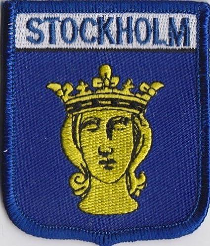 De la bandera de Suecia Stockholm parche escudo del Real Mallorca